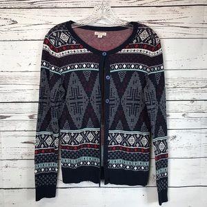 Merona Like New Ladies Cardigan Sweater M